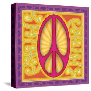 Peace Sign (pink) by Kem Mcnair
