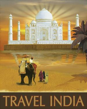 Travel India by Kem Mcnair