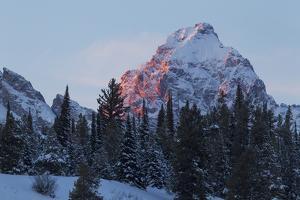 Grand Teton sunset by Ken Archer