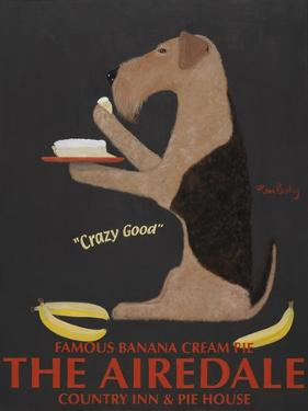 Airedale Banana Cream by Ken Bailey
