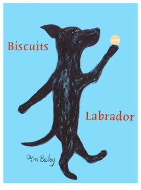 Biscuits Labrador by Ken Bailey