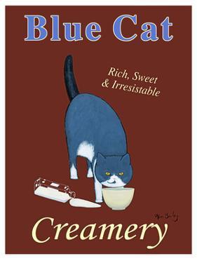 Blue Cat Creamery by Ken Bailey