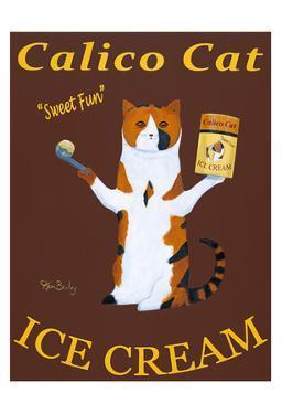 Calico Cat Ice Cream by Ken Bailey