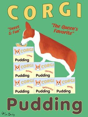 Corgi Pudding by Ken Bailey