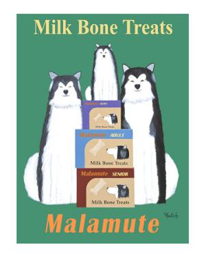 Malamute Milk Bones by Ken Bailey