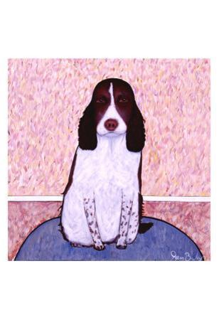 Patience - Springer Spaniel by Ken Bailey
