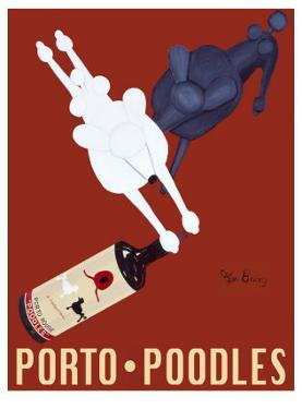Porto Poodles by Ken Bailey