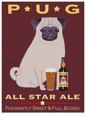 Pug All Star Ale by Ken Bailey