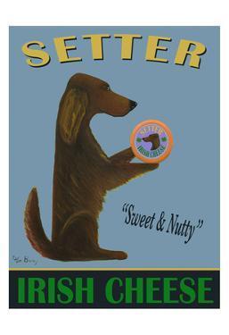 Setter Irish Cheese by Ken Bailey