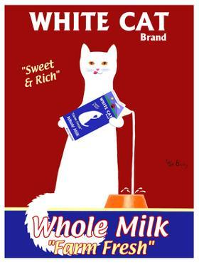 White Cat Milk by Ken Bailey