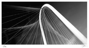 Bridge Arch and Cables by Ken Bremer