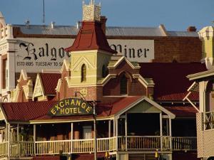 Exchange Hotel Dating from 1900, Kalgoorlie, Western Australia, Australia, Pacific by Ken Gillham