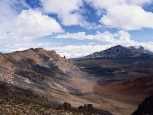 Haleakala Crater on the Island of Maui, Hawaii, United States of America, North America by Ken Gillham
