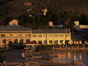 Harbourfront at Sunset, St. Croix, U.S. Virgin Islands, West Indies, Central America by Ken Gillham