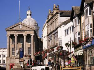 Market House Dating from 1838, Market Jew Street, Penzance, Cornwall, England by Ken Gillham