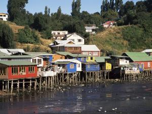 Palafitos, Castro, Chiloe Island, Chile, South America by Ken Gillham