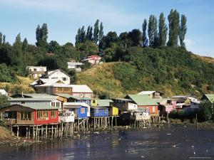 Palafitos, Castro, Chiloe Island, Chile, South Amrica by Ken Gillham