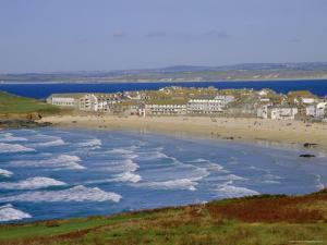 Porthmeor Beach, St. Ives, Cornwall, England, UK by Ken Gillham