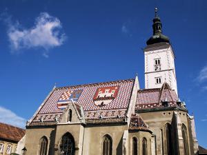 St. Mark's Church, Zagreb, Croatia by Ken Gillham