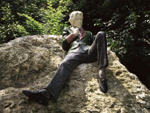 Statue of Oscar Wilde, Merrion Square, Dublin, Eire (Republic of Ireland) by Ken Gillham