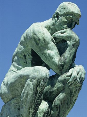 Thinker, by Rodin, Musee Rodin, Paris, France, Europe