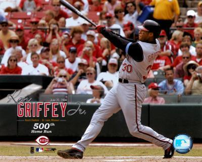 Ken Griffey, Jr. - 500th Home Run Commemorative