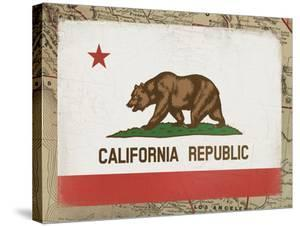 California Flag by Ken Hurd