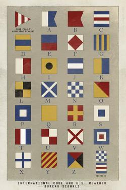 Nautical Flags by Ken Hurd