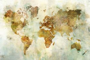 Global Patterned Map by Ken Roko