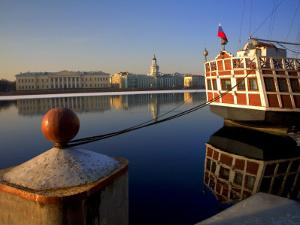 Russia, St;Petersburg; a Wooden Ship by Ken Sciclina