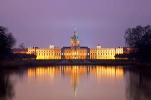 Germany, Berlin. Charlottenburg Castle Environs. Unesco by Ken Scicluna