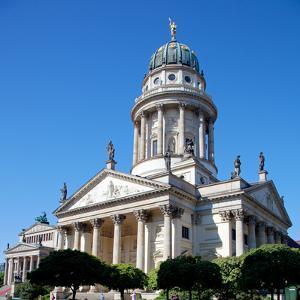 Germany, Berlin. the Deutscher Dom. by Ken Scicluna