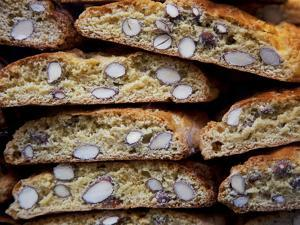 Italy, Florence, Western Europe, 'Cantuccini', Typical Tuscan Biscuits by Ken Scicluna
