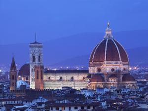 Italy, Florence, Western Europe, the 'Duomo' of Which the Cupola Is Designed by Famed Italian Archi by Ken Scicluna