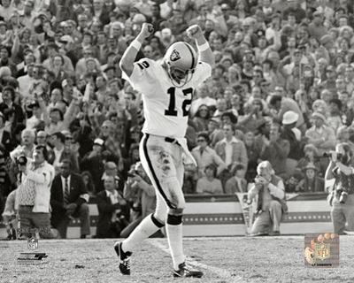 Ken Stabler Super Bowl XI Action