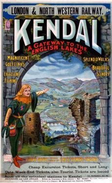 Kendal, A Gateway to the English Lakes, LNWR, c.1910