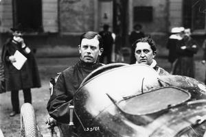 Kenelm Lee Guinness Behind the Wheel of a Sunbeam C1913-C1924