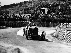 Kenelm Lee Guinness in a 6 Cylinder Sunbeam, French Grand Prix, Lyons, 1924