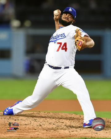 Kenley Jansen Game 3 of the 2016 National League Championship Series