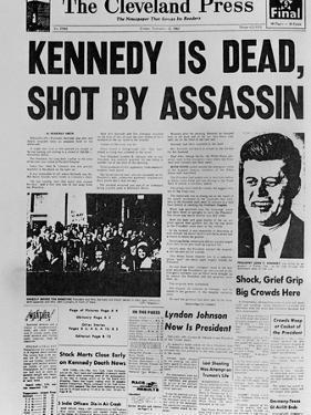Kennedy Assassination Headline