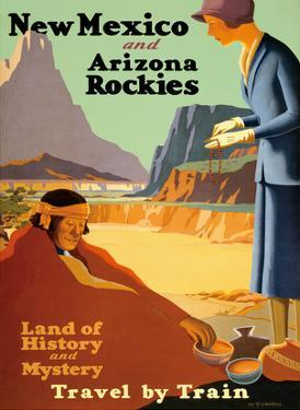 New Mexico and Arizona Rockies - Land of History and Mystery by Kenneth and William Willmarth