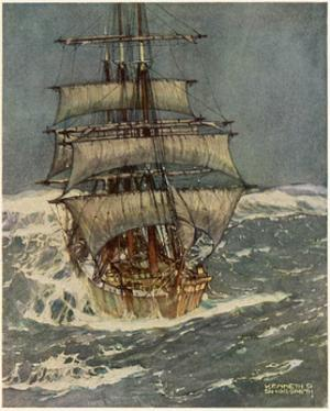 In Roaring Forties by Kenneth D Shoesmith