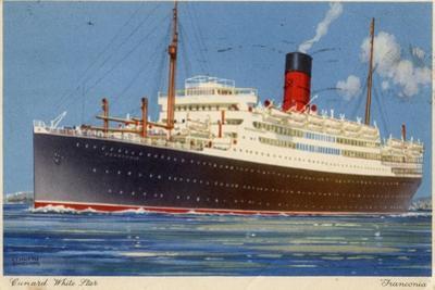 Cunard Line Steamship RMS 'Franconia, C1923-C1939 by Kenneth Denton Shoesmith