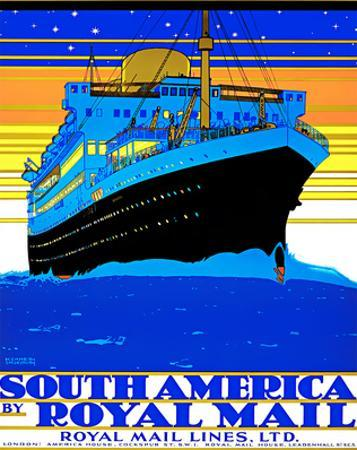 Royal Mail Lines/South America by Kenneth Denton Shoesmith