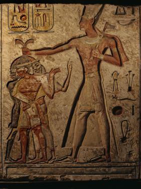 A Relief of Ramses II Smiting His Enemies by Kenneth Garrett