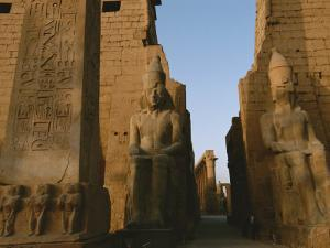 A View of Luxor Temple by Kenneth Garrett