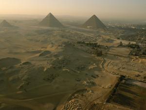 Aerial of Giza by Kenneth Garrett