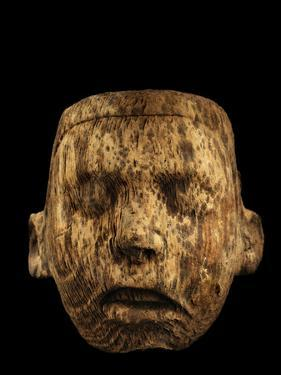 An Aztec Tiny Pine Mask Was Discovered in Offering 126 by Kenneth Garrett