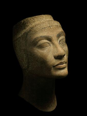 An Unfinished Bust of Nefertiti by Kenneth Garrett