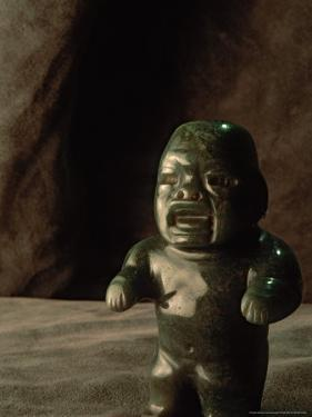 Boca Baby, Olmec, Jade, National Museum of Anthropology and History, Mexico City, Mexico by Kenneth Garrett